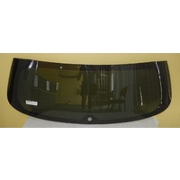 MITSUBISHI ASX - 7/2010 to - 5DR HATCH - REAR WINDSCREEN GLASS - HEATED, WIPER HOLE - PRIVACY GREY