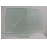 AUDI Q5 8R - 3/2009 to CURRENT - 4DR SUV - LEFT SIDE REAR DOOR GLASS (2 HOLES)