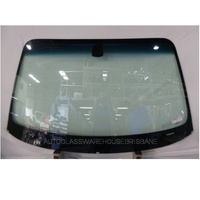 BMW 1 SERIES E87 - 9/2004 to 7/2011 - 5DR HATCH - FRONT WINDSCREEN GLASS - MIRROR BUTTON FITTED (NO RAIN SENSOR)