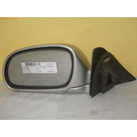 HYUNDAI EXCEL X3 - 3DR HATCH 9/94>4/00 - LEFT SIDE COMPLETE MANUAL MIRROR-SILVER (switch missing)