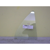 suitable for TOYOTA COROLLA -ZE122 -  4DR SED 12/01>4/07 - DRIVERS - RIGHT SIDE - REAR QUARTER GLASS
