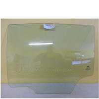 HOLDEN CRUZE JH - 11/2011 to 12/2016 - 5DR HATCH - PASSENGERS - LEFT SIDE REAR DOOR GLASS