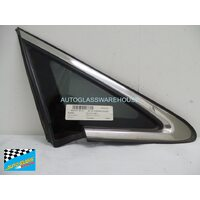MAZDA CX-7 - 11/2007 to 02/2012 - 5DR WAGON - DRIVERS - RIGHT SIDE FRONT QUARTER GLASS (CHROME ENCAPSULATED)