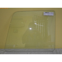 FORD FALCON XD/XE/XF/XG - 10/1979 TO 12/1999 - PANEL VAN - LEFT SIDE BARN DOOR GLASS - CLEAR
