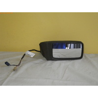 JAGUAR  XJ40 - SEDAN 3/87>10/94 - RIGHT SIDE COMPLETE ELECTRIC MIRROR-BLACK (twin plug)