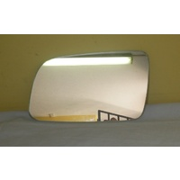 HOLDEN ASTRA TS - 9/1998 to 9/2005 - SEDAN/HATCH - LEFT SIDE MIRROR - FLAT GLASS ONLY - 160mm wide X 100mm high