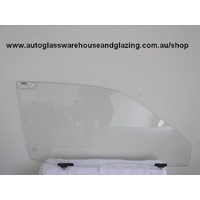 TOYOTA STARLET KP90 - 3/1996 to 9/1999 - 3DR HATCH - RIGHT SIDE FRONT DOOR GLASS - Luggs (IMPORT)