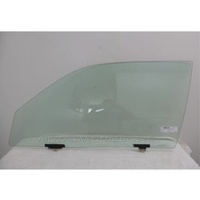 TOYOTA STARLET KP90 - 3/1996 to 9/1999 - 3DR HATCH - PASSENGER - LEFT SIDE FRONT DOOR GLASS (EP91LUGGS)