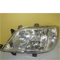 MERCEDES BENZ SPRINTER W902/W905 - VAN 6/00>9/06 - PASSENGERS - LEFT SIDE HEADLIGHT CRYSTAL - WITH FOG LIGHT