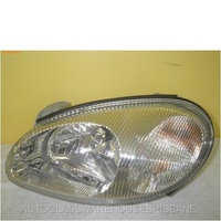 DAEWOO LANOS - 8/1997 TO 1/2004 - 3DR/5DR HATCH/SEDAN - LEFT SIDE HEADLIGHT