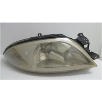 FORD FALCON AU SERIES 1-3 - 9/1998 TO 9/2002 - SEDAN/WAGON/UTE - DRIVERS - RIGHT SIDE HEADLIGHT - CHROME & SILVER