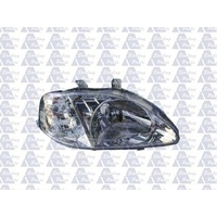 HONDA CIVIC EK SERIES 2 - SEDAN/HATCH 1/99>9/00 - DRIVERS - RIGHT SIDE HEADLIGHT
