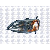 HONDA CIVIC ES - SEDAN 10/00>12/02 - PASSENGER - LEFT SIDE HEADLIGHT - AMBER BLINKER