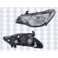 HONDA CIVIC FD SERIES 1 - 4DR SEDAN/HYBRID 2/06>CURRENT - PASSENGER - LEFT SIDE HEADLIGHT - NEW