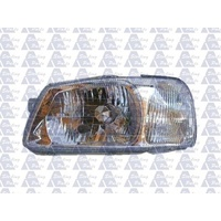 HYUNDAI ACCENT - HATCH 7/00>7/02 - PASSENGER - LEFT SIDE HEADLIGHT - NEW