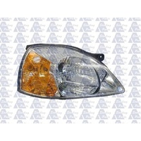 KIA RIO - SEDAN/HATCH 9/03>4/05 - DRIVERS - RIGHT SIDE HEADLIGHT - NEW