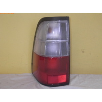 HOLDEN RODEO - 3/1997 to 12/2003 - UTILITY - LEFT SIDE TAIL LIGHT - CLEAR/RED