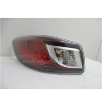 MAZDA 3 (2.0/2.2L) DIESEL TURBO - 4DR SEDAN 1/2009>CURRENT - LEFT SIDE TAIL LIGHT - NEW (OUTER)