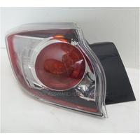 MAZDA 3 (2.0/2.2L) DIESEL TURBO - 4/2009 to CURRENT - 5DR HATCH - LEFT SIDE TAIL LIGHT (OUTER)