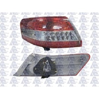suitable for TOYOTA CAMRY CV40 - 4DR SEDAN 7/09>2011 - PASSENGER - LEFT SIDE TAIL LIGHT - NEW (RED/CLEAR/RED) LED / OUTER