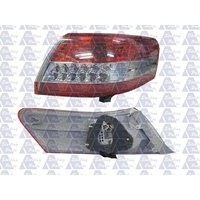 suitable for TOYOTA CAMRY CV40 - 4DR SEDAN 7/09>2011 - DRIVERS - RIGHT SIDE TAIL LIGHT - NEW (RED/CLEAR/RED) LED / OUTER