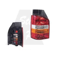 VOLKSWAGEN TRANSPORTER-T5 -8/2004 to 12/2015 - LEFT SIDE TAIL LIGHT - NEW (RED/CLEAR/AMBER)