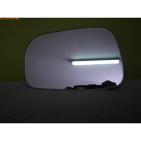 HOLDEN CRUZE YG - 6/2002 to 12/2006 - 5DR WAGON - PASSENGERS - LEFT SIDE MIRROR - FLAT GLASS ONLY - 153MM X 96MM