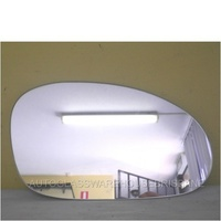 HOLDEN COMMODORE VT/VX/VU - 1997 TO 2002 - SED/WAG/UTE - DRIVERS - RIGHT SIDE MIRROR - FLAT GLASS ONLY - 175MM X 108MM