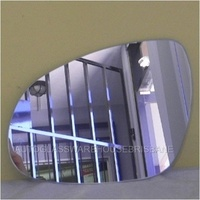 HYUNDAI i30 FD - 9/2007 to 4/2012 - 5DR HATCH - LEFT SIDE MIRROR - FLAT GLASS ONLY - 200mm WIDEST DIAGONAL X 130mm TALL