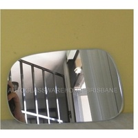 SUZUKI IGNIS RG413 - 11/2000 to 1/2005 - 3DR/5DR HATCH - PASSENGERS - LEFT SIDE MIRROR - FLAT GLASS ONLY
