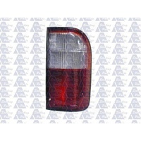 TOYOTA HILUX RZN140 - 10/1997 to 3/2005 - UTE - DRIVERS - RIGHT SIDE TAIL LIGHT - CLEAR/RED