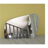 FORD FIESTA WP - 3DR HATCH 3/04>10/05 - LEFT SIDE MIRROR - NEW (flat glass only - 180mm diagonal wide X 105mm tall