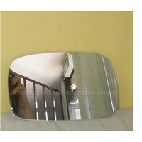 suitable for TOYOTA STARLET - 3DR HATCH 3/96>9/99 - LEFT SIDE MIRROR - (flat glass only - 95mm X 152mm wide