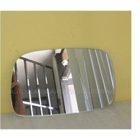 suitable for TOYOTA STARLET - 3DR HATCH 3/96>9/99 - RIGHT SIDE MIRROR - (flat glass only - 95mm X 152mm wide