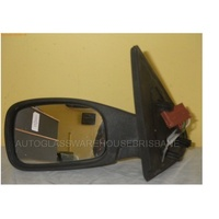 PEUGEOT 306 - 4DR SEDAN 1994>2001 - LEFT SIDE COMPLETE ELECTRIC MIRROR - BROWN PLUG (7)5 WIRES-BLUE