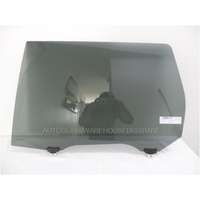 MITSUBISHI OUTLANDER ZJ/ZK - 11/2012 TO CURRENT - 5DR WAGON - PASSENGERS - LEFT SIDE REAR DOOR GLASS - PRIVACY GREY
