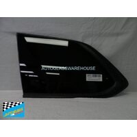 MITSUBISHI OUTLANDER ZJ/ZK - 11/2012 to CURRENT - 5DR WAGON - LEFT SIDE REAR CARGO GLASS - BLACK - ENCAPSULATED