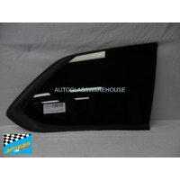 MITSUBISHI OUTLANDER ZJ/ZK - 11/2012 to CURRENT - 5DR WAGON - RIGHT SIDE CARGO GLASS - BLACK MOULD (ENCAPSULATED)