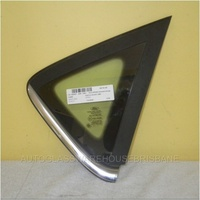 FORD FIESTA WS/WT - 9/2008 to CURRENT - 5DR HATCH - DRIVERS - RIGHT SIDE OPERA GLASS (CHROME) - ENCAPSULATED