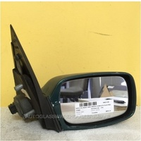 FORD MONDEO HC - 4DR HATCH/WAGON 12/96>10/00 - RIGHT SIDE COMPELET ELECTRIC MIRROR - BLACK PLUG 5 PIN - GREEN