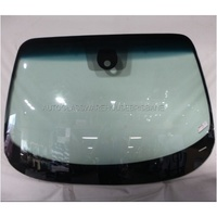 NISSAN JUKE F15 - 12/2012 to CURRENT - 4DR SUV - FRONT WINDSCREEN GLASS - RAIN SENSOR,MIRROR BUTTON - GREEN