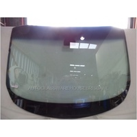 FORD TRANSIT CUSTOM SWB/LWB - 1/2013 to CURRENT - FRONT WINDSCREEN GLASS - NEW - ROUND MIRROR BUTTON,LARGE PATCH,COWL RETAINER