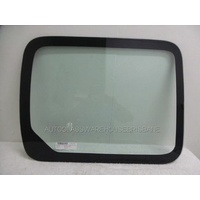 RENAULT KANGOO X61 MWB - 10/2010 to CURRENT - VAN - RIGHT SIDE FRONT FIXED SLIDING DOOR GLASS - GREEN -700 x 550