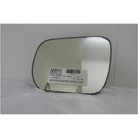 SUZUKI VITARA - 9/2015 ONWARDS - 4DR WAGON - LEFT SIDE MIRROR - FLAT GLASS ONLY - 190W X 150H - WITH BACKING PLATE - 8006