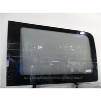 VOLKSWAGEN CRAFTER - 3/2007 TO 8/2017 - LWB VAN - LEFT SIDE REAR FIXED BONDED GLASS