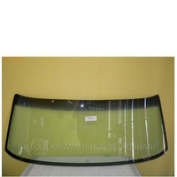 FORD FALCON XA/XB/XC - 1/1972 to 9/1979 - SEDAN/WAGON/PANEL VAN/UTE - FRONT WINDSCREEN GLASS - GREEN