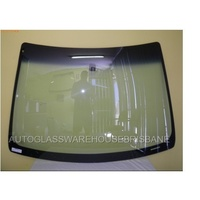 FORD FOCUS LS/LT/LV - 6/2005 to 4/2011 - SEDAN/HATCH -  FRONT WINDSCREEN GLASS (Top Mould & Retainer incl)