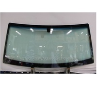 LAND ROVER DISCOVERY 2 - 3/1999 to 11/2004 - 4DR WAGON - FRONT WINDSCREEN GLASS - GREEN