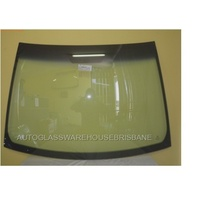 TOYOTA YARIS - 9/2005 to 10/2011 - HATCH - FRONT WINDSCREEN GLASS - MIRROR BUTTON, TOP MOULD
