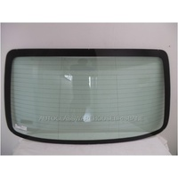 DAEWOO KALOS T200 - 3/2003 to 12/2004 - 4DR SEDAN - REAR WINDSCREEN GLASS - HEATED